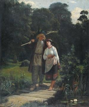 Antoni Piotrowski (1853-1924), Sielanka, 1874