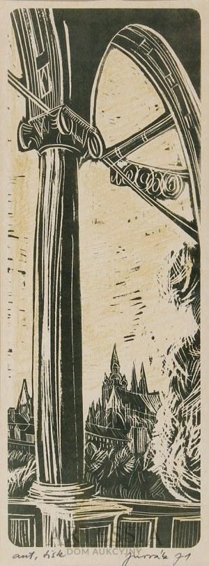 Autor nierozpoznany (XX w.), Krużganki, 1971