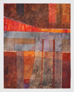 Sebastian Łyczko (Ur.1975), Pejzaż jesienny abstrakcyjny, 2019