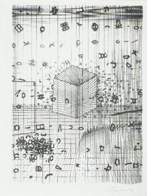 Jan Tarasin (1926 Kalisz - 2009 Warszawa), Bez tytułu, 1990 r.
