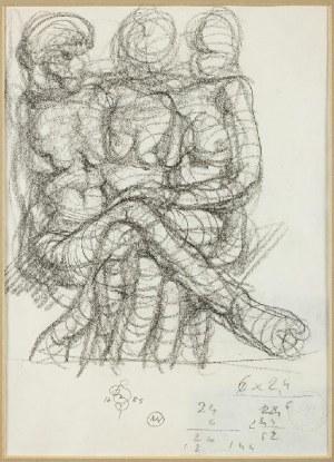 Franciszek Starowieyski (1930 Bratkówka k. Krosna - 2009 Warszawa), Akty-szkice, 1985 r.