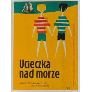 Roman Opałka (1931 Abbeville-Saint-Lucien - 2011 Rzym), Ucieczka nad morze, 1960 r.