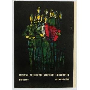 Roman Opałka (1931 Abbeville-Saint-Lucien - 2011 Rzym), Festiwal Wojskowych Zespołów Estradowych, 1963 r.