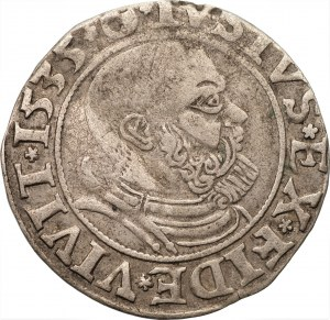 Prusy Książęce - Albert Hohenzollern (1525-1568) - grosz 1535 - Królewiec