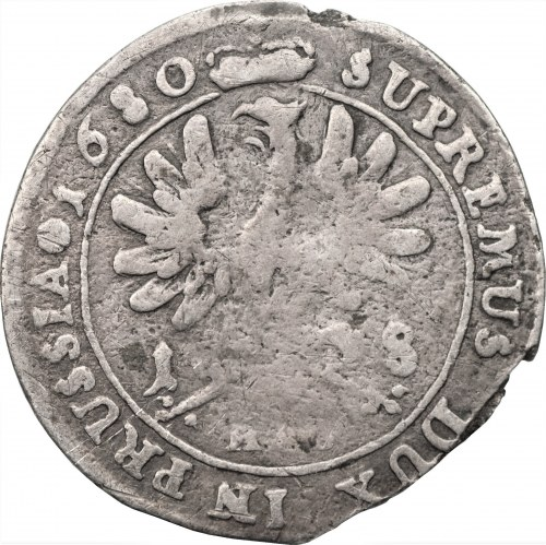 NIEMCY - Prusy - Fryderyk Wilhelm - Ort 1680 - Królewiec HS