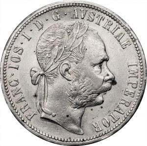 AUSTRIA - Franciszek Józef I - 1 floren 1879