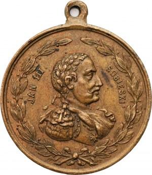 Polska XIX wiek - Galicja - medal Pamiątka z Krakowa bez daty