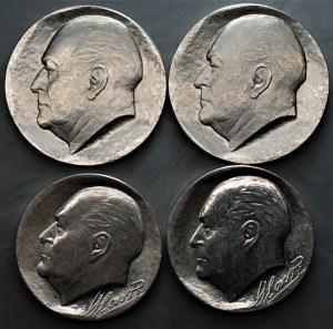 Norwegia - zestaw 4 sztuk monet - 2 x 100 koron 1982 i 50 koron 1978