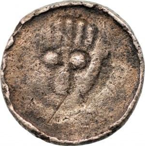 Władysław I Herman (1081-1102) - denar krzyżowy przed 1907 - Wrocław -