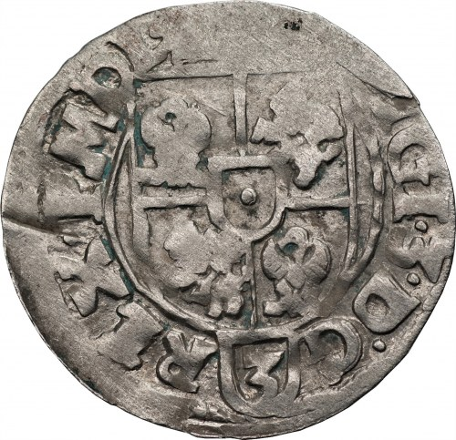 Zygmunt III Waza (1587-1632) - Półtorak 1615 Bydgoszcz – Jedna z najrzadszych odmian półtoraków koronnych Zygmunta III