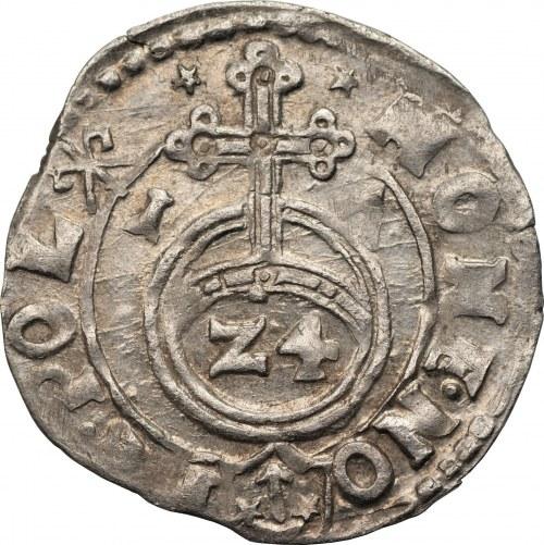 Zygmunt III Waza (1587-1632) - Półtorak 1617 Kraków – Błąd w tytulaturze króla: D D zamiast D G.
