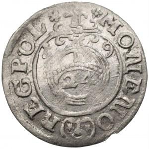 14 - Zygmunt III Waza (1587-1632) - Półtorak 1619 Bydgoszcz – POL na końcu legendy na rewersie, rzadka odmiana