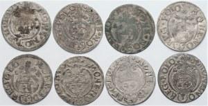 Zygmunt III Waza (1587-1632) - Zestaw półtoraków 8 sztuk - Kolekcja Górecki