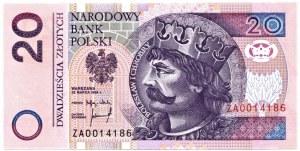 20 złotych 1994 - seria zastępcza ZA 0014186