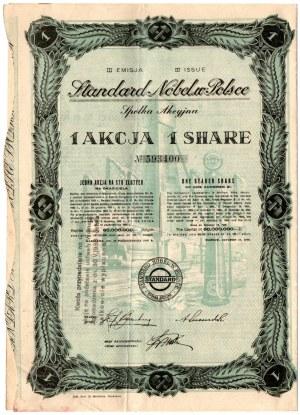 STANDARD NOBEL w Polsce SA - Em. III - 100 złotych 1932
