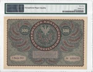 500 marek polskich 1919 - I Serja BU - PMG 66 EPQ