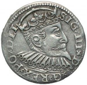 Zygmunt III Waza (1587-1632) - Trojak 1597 - Ryga