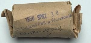 Rulon bankowy (20 sztuk) 500 złotych 1989 - 50 r. Wojny Obronnej Narodu Polskiego