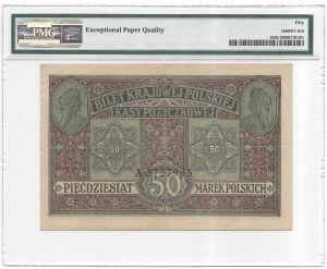 50 marek 1916 - Jenerał - PMG 50 EPQ