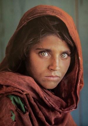 Steve MCCURRY ur. 1950, Afghan Girl, 1984