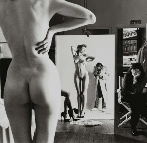 Helmut NEWTON (1920 - 2004), Self-Portrait with Wife June and Models