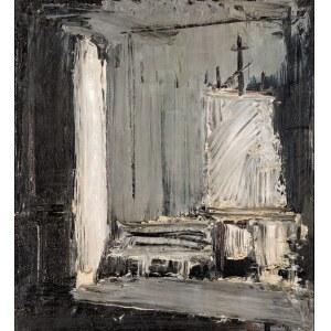 Jacek SIENICKI, Wnętrze pracowni, 1987