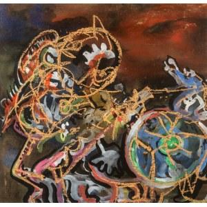 Alfred LENICA (1899 - 1977), Perpetuum mobile, ok. 1947