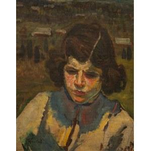 Fryderyk PAUTSCH (1877 - 1950), Portret dziecka