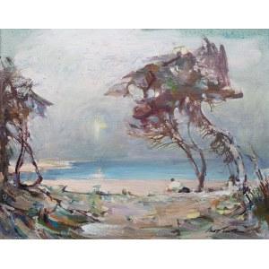 Marian Mokwa (1889 Malary - 1987 Sopot), Widok na zatokę