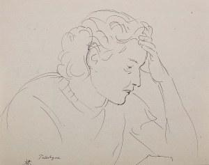 Wlastimil Hofman (1881 Praga - 1970 Szklarska Poręba), Zamyślona