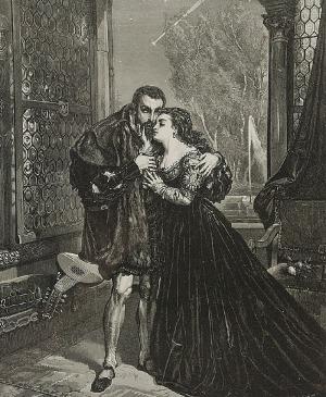 Jan MATEJKO (1838-1893), Zygmunt August i Barbara Radziwiłłówna