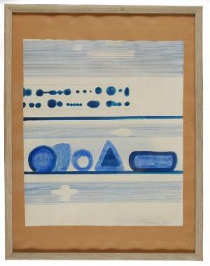 Jan TARASIN (1926-2009), Bez tytułu, 1975