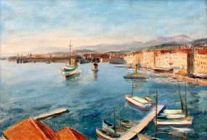 Henryk Hayden (1883-1970), W cichym porcie