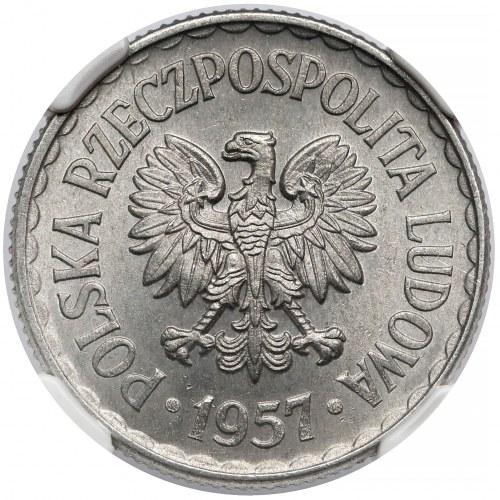 1 złoty 1957 - rzadka w takim stanie