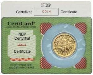 Orzeł Bielik 100 złotych 1996 - niski numer (14)