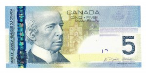 Canada 5 Dollars 2006 LAURIER P.101Aa