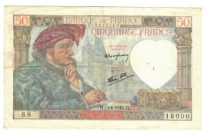 France 50 Francs 1940