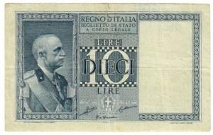 Italy 10 Lire 1935