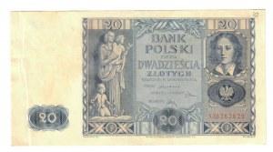 Poland 20 Zlotych 1936
