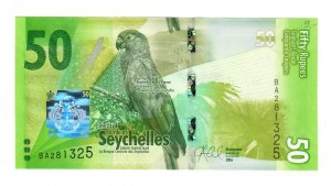 Seychelles 50 Rupees 2016