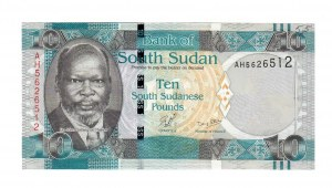 South Sudan 10 Pounds 2011  P.07