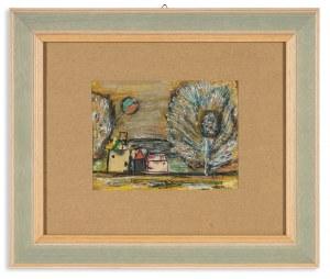 Tukan-Wolski Eugeniusz (1928-2014), Wioska [Cottage], 1992