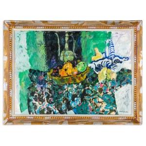Joniak Juliusz (Ur. 1925), Martwa natura z gruszkami, 2001