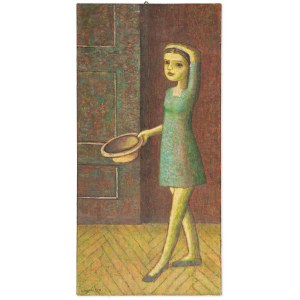 Patalita Lucyna (Ur. 1955), Dziewczynka z kapeluszem, 2004
