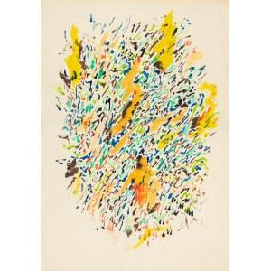 Oberländer Marek (1922-1978), Kompozycja abstrakcyjna, 1961
