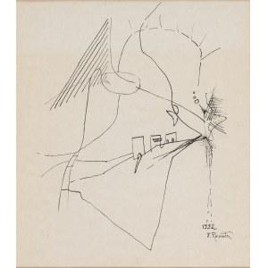 Rosenstein Erna (1913-2003), Kompozycja, 1992