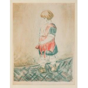 Hrynkowski Jan Piotr (1891-1971), Mała dziewczynka, 1923