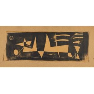 Stern Jonasz (1904-1988), Czerwone i Czarne, 1954