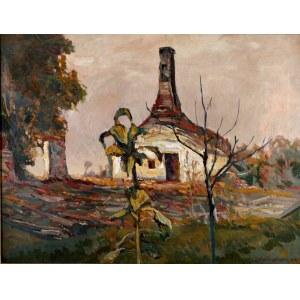 Stefan Filipkiewicz (1879 Tarnów - 1944 Obóz Koncentracyjny Mauthausen-Gusen), Słoneczniki, 1916