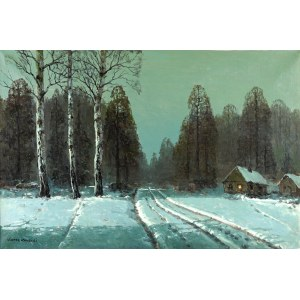 Wiktor Korecki (1890 Kamieniec Podolski -1980 Komorów), Chaty w śniegu